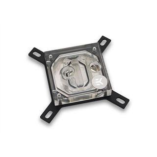 EK Water Blocks EK-Supremacy Clean CSQ Acryl/Kupfer (vernickelt) CPU Kühler