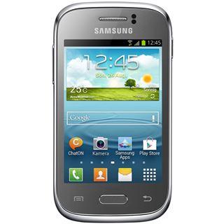 Samsung Galaxy Young 4 GB silber