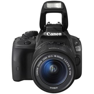 Canon EOS 100D Kit inklusive EF-S 18-55 mm 1:3,5-5,6 IS STM