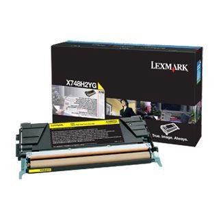 Lexmark X748 10K Tonerkartusche gelb