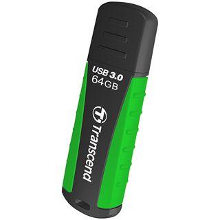 64 GB Transcend JetFlash 810 schwarz/gruen USB 3.0