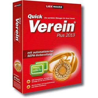 Lexware QuickVerein Plus 2013 32/64 Bit Deutsch Grafik Vollversion (DVD)