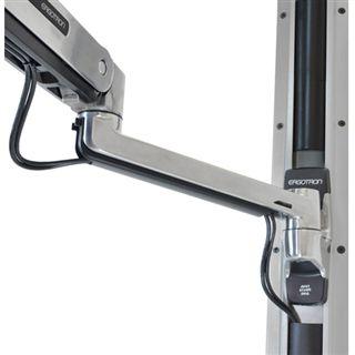 Ergotron 45-358-026 LX Steh-Sitz-Wandmontagesystem Wandhalterung