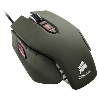 Corsair Vengeance M65 FPS Laser Gaming Mouse USB dunkelgrün (kabelgebunden)