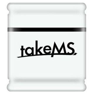 8 GB takeMS MEM-Drive Exo weiss USB 2.0