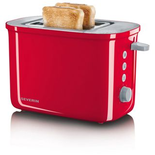 Severin Toaster AT 2214 rot/grau