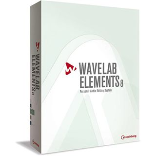 Steinberg Wavelab Elements 8 32/64 Bit Multilingual Retail
