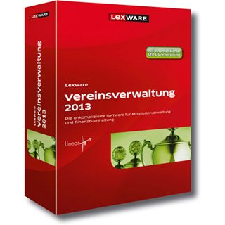 Lexware Vereinsverwaltung 2013 32/64 Bit Deutsch Office Vollversion