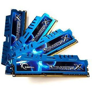 16GB G.Skill RipJawsX DDR3-2400 DIMM CL11 Quad Kit