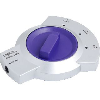 LogiLink CA1004 3-fach Toslink Switch
