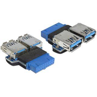 Delock USB3.0 auf 2x USB A Adapter (65324)