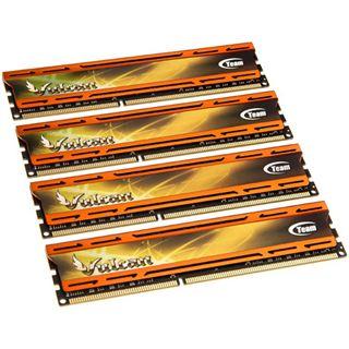 16GB TeamGroup xtreem vulcan orange DDR3-2400 DIMM CL11 Quad Kit