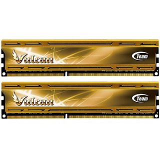 8GB TeamGroup Vulcan Series rot DDR3-1600 DIMM CL9 Dual Kit