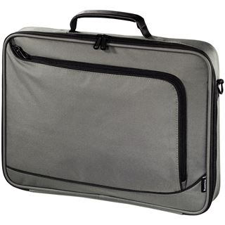Hama Notebook-Tasche Sportsline Bordeaux, Displaygr. bis 40 cm (15,6), Grau