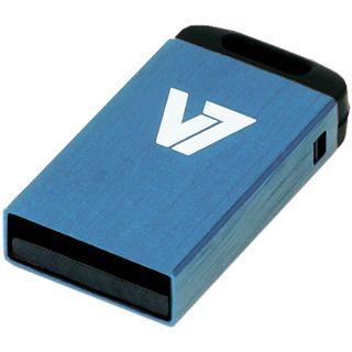 32 GB V7 Nano blau USB 2.0