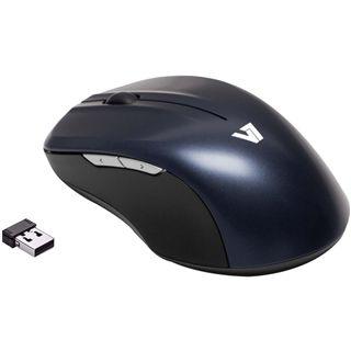 V7 Full-Size USB schwarz/blau (kabellos)