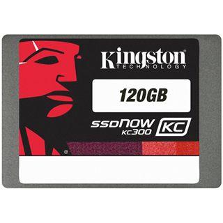 """120GB Kingston SSD Now KC300 2.5"""" (6.4cm) SATA 6Gb/s MLC asynchron (SKC300S37A/120G)"""