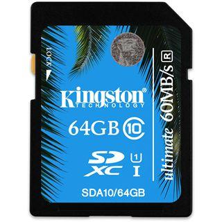 64 GB Kingston UHS-I Ultimate SDXC Class 10 Retail