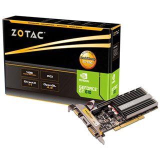 1GB ZOTAC GeForce GT 610 Passiv PCI (Retail)