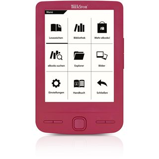 "4.3"" (10,92cm) TrekStor e-Book Reader Pyrus mini pink"