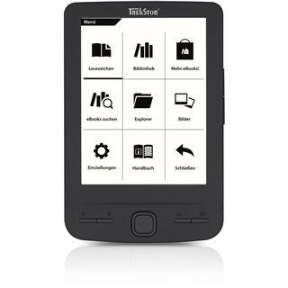 "4.3"" (10,92cm) TrekStor e-Book Reader Pyrus mini schwarz"