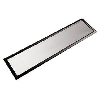 DEMCiflex 420mm schwarz Staubfilter für Radiator (3x140mm Square black mesh/magn)
