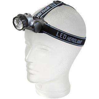 Brennenstuhl LED-Kopflampe HL 10, mit 10 LEDs, schwarz