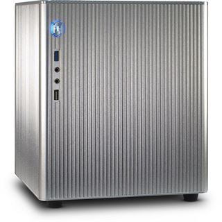 Inter-Tech E-M3 Silver ITX Tower ohne Netzteil silber