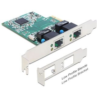 Delock 89358 2 Port PCIe x1 retail