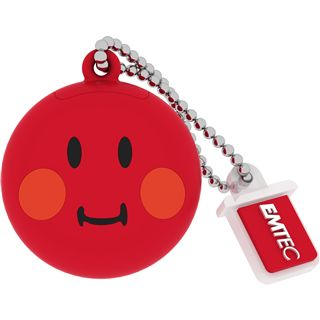 8 GB EMTEC Smiley World SW102 Shame rot USB 2.0