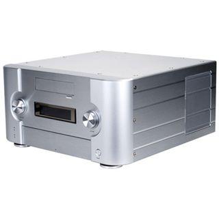 Silverstone Crown CW02 Alu Desktop ohne Netzteil silber