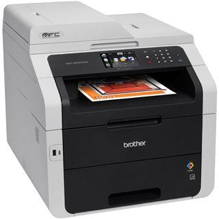 Brother MFC-9340CDW Farblaser Drucken/Scannen/Kopieren/Faxen LAN/USB