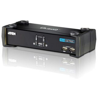 ATEN Technology CN8600-AT-G 2-fach IP-Steuereinheit