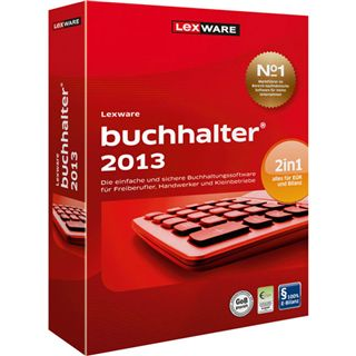 Lexware Buchhalter 2013 (Version 18.5) 32 Bit Deutsch Office Update PC (CD)