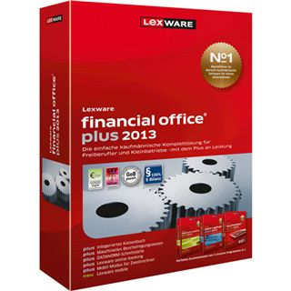 Lexware Financial Office Plus 2013 Juli (Vers. 17.5) 32/64 Bit Deutsch Office Zusatzlizenzen PC (CD)