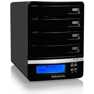 "Raidon GR5630-WSB3+ 3.5"" (8,89cm) eSATA/FireWire 800/USB 3.0"