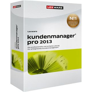 Lexware Kundenmanager Pro 2013 32/64 Bit Deutsch Office Vollversion PC (DVD)