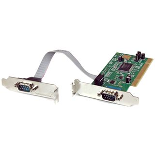 Startech PCI2S550_LP 2 Port PCI Low Profile/zweites Slotblech retail