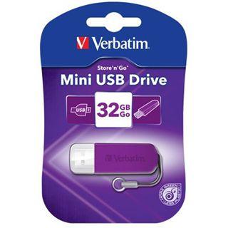 32 GB Verbatim Store n Go Mini lila USB 2.0