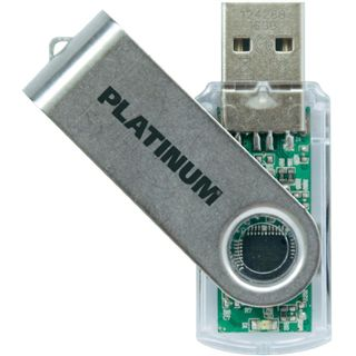 16 GB Platinum HighSpeed TWS silber USB 2.0