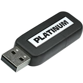 128 GB Platinum HighSpeed Slider schwarz USB 2.0