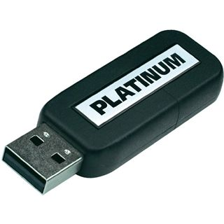 4 GB Platinum HighSpeed Slider schwarz USB 2.0