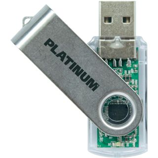 4 GB Platinum HighSpeed TWS silber USB 2.0