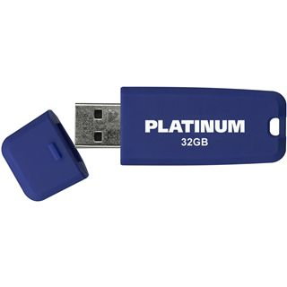 32 GB Platinum HighSpeed Softstick blau USB 2.0