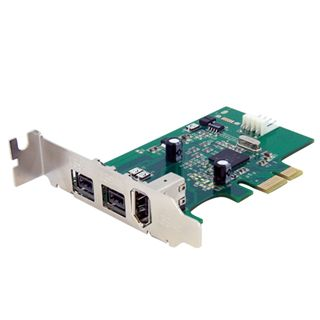 Startech PEX1394B3LP 3 Port PCIe x1 Low Profile retail