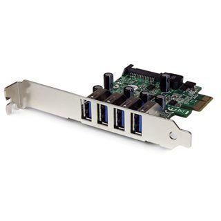 Startech PEXUSB3S4V 4 Port PCIe x1 Low Profile retail