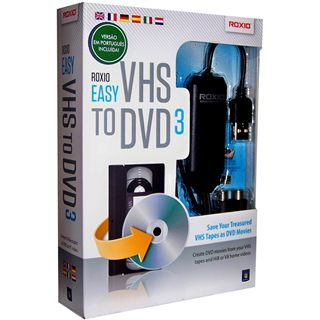 Roxio Roxio Easy VHS to DVD 3 32 Bit Deutsch Videosoftware