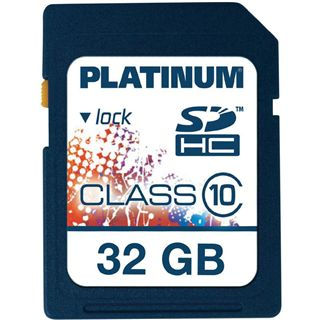 32 GB Platinum BestMedia SDHC Class 10 Retail