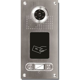 AE Farb-Videotürsprechanlage m. RFID 2 Fam.