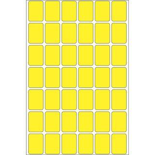 Herma 2381 gelb Vielzwecketiketten 1.6x2.2 cm (32 Blatt (1344